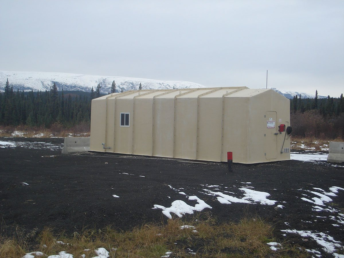 Wellhead shelters